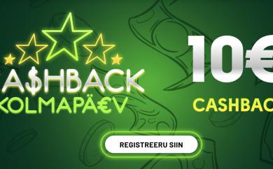 OlyBet cashback kampaania