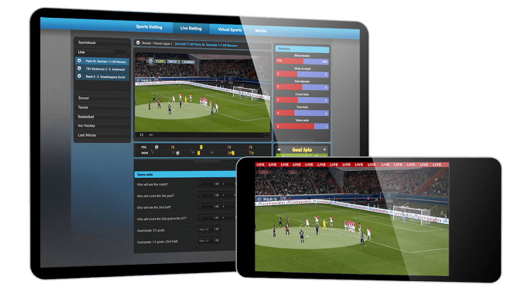 Sports betting platforms