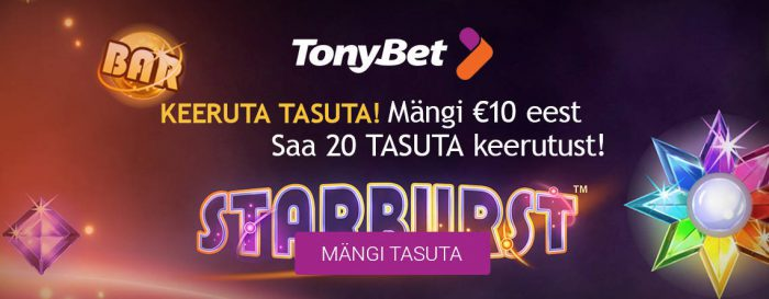 TonyBet Keeruta_tasuta